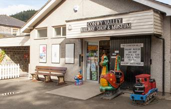 Conwy Valley Railway Shop and Museum Betws-y-Coed