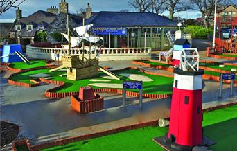 Rhos Fynach Crazy Golf